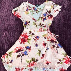 Beautiful Summer Wrap Dress